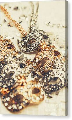 Fancy Dress Timepieces Canvas Print by Jorgo Photography - Wall Art Gallery