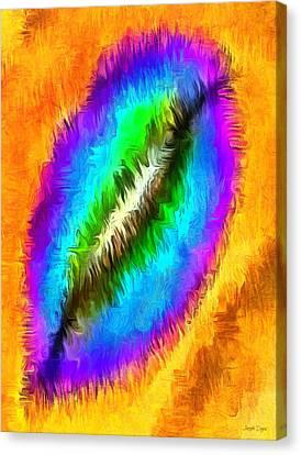 Health Canvas Print - Fancy Lips - Pa by Leonardo Digenio