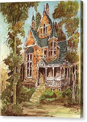 Fancy Old House 32 Canvas Print by Aurelio Menna