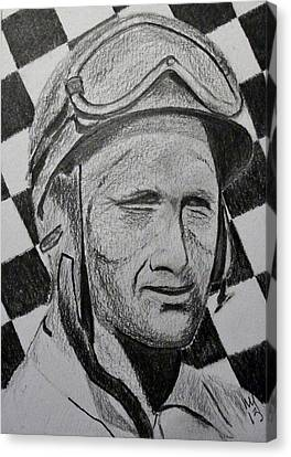 Fangio Canvas Print by Nick Young