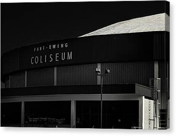 Fant-ewing Coliseum Ulm Canvas Print by Eugene Campbell