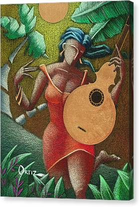 Fantasia Boricua Canvas Print