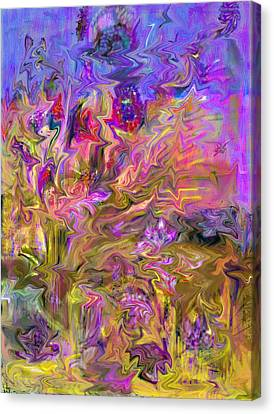 Fantasia Painting Canvas Print by Don  Wright