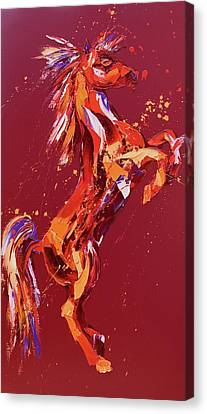 Fantasia Canvas Print by Penny Warden