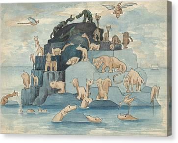 Fantastic Animals Left Off The Ark Canvas Print