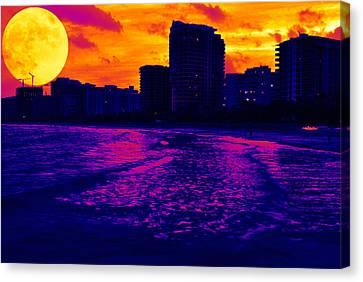 Fantastic Colors Canvas Print by Jose Mena