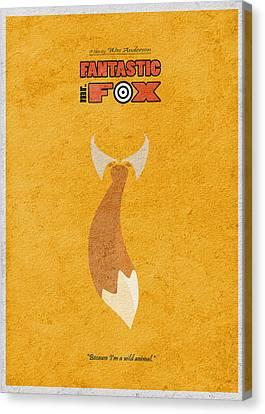 Fantastic Mr. Fox Canvas Print