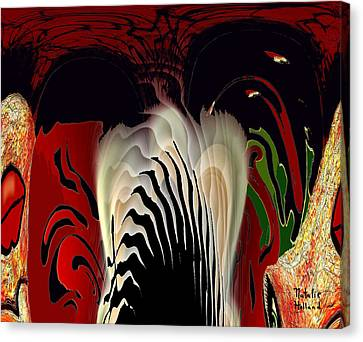 Fantasy Abstract Canvas Print by Natalie Holland