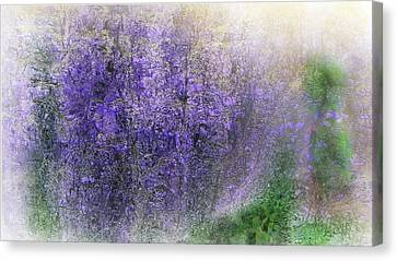 Fantasy Floral 07-10-17 Canvas Print
