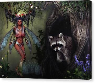 Fantasy Forrest Canvas Print