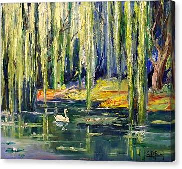 Fantasy Lagoon Canvas Print