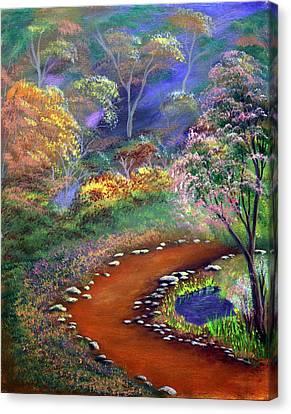 Fantasy Path Canvas Print