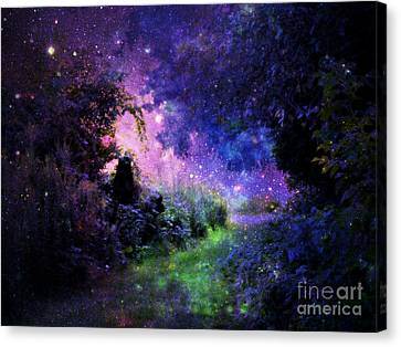 Fantasy Path Canvas Print by Johari Smith