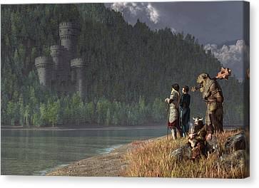 Fantasy Quest Canvas Print