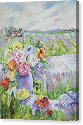 Far Away Canvas Print by Sharon Furner