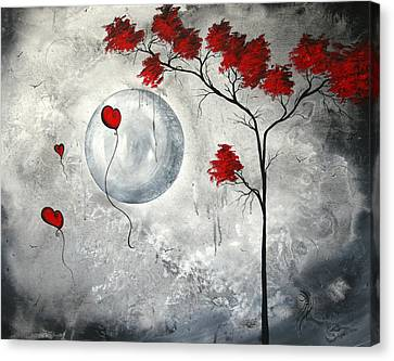 Goth Canvas Print - Far Side Of The Moon By Madart by Megan Duncanson