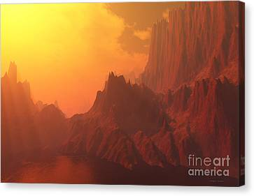 Faraday Canvas Print by Corey Ford
