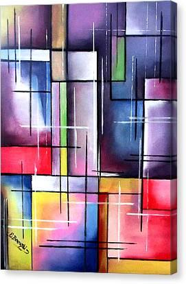 Farbenspiel Canvas Print