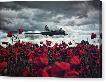 Farewell To The Spirit Of Great Britain  Canvas Print by Jason Green