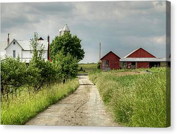 Farm Canvas Print by Ann Bridges