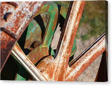 Canvas Print featuring the photograph Farm Equipment 2 by Ely Arsha
