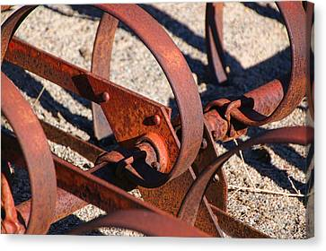 Canvas Print featuring the photograph Farm Equipment 4 by Ely Arsha
