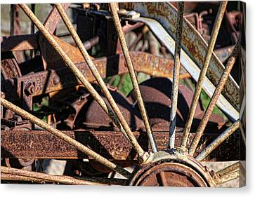 Canvas Print featuring the photograph Farm Equipment 5 by Ely Arsha