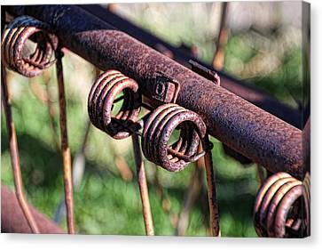Canvas Print featuring the photograph Farm Equipment 6 by Ely Arsha