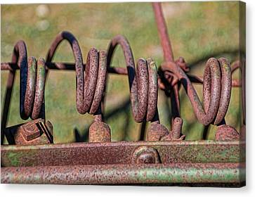 Canvas Print featuring the photograph Farm Equipment 7 by Ely Arsha