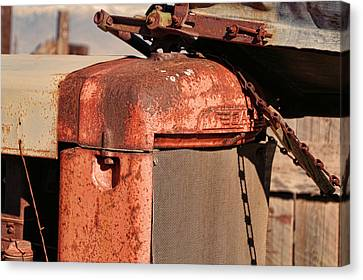 Canvas Print featuring the photograph Farm Equipment 8 by Ely Arsha