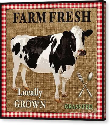 Farm Fresh-jp2381 Canvas Print by Jean Plout