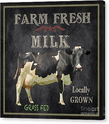 Farm Fresh-jp2635 Canvas Print by Jean Plout