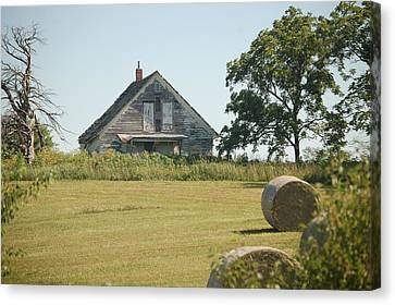 Farm Home Canvas Print