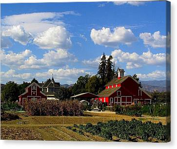 Farm House Canvas Print by Scott Brown