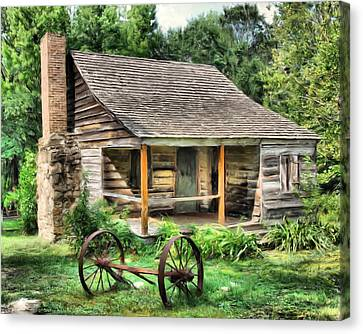 Farm House Canvas Print by Steven Richardson