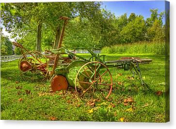 Farm Junk No5 Canvas Print