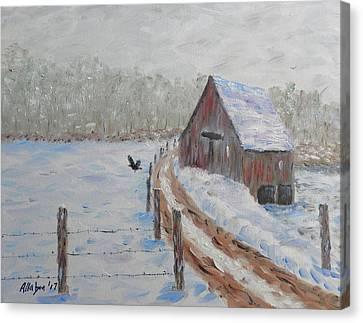Canvas Print - Farm Land by Stanton Allaben