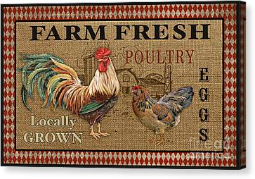 Farm Life-jp3238 Canvas Print by Jean Plout