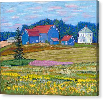 Farm On Prince Edward Island Canvas Print