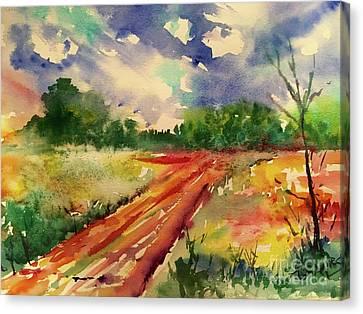Canvas Print - Farm Path by Tina Sheppard