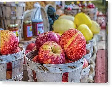 Farm Stand Canvas Print by Lori Parsells