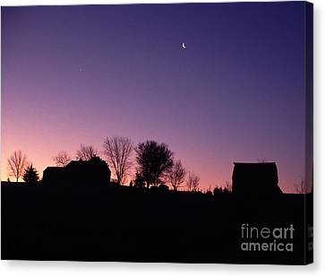 Farm Sunrise Canvas Print