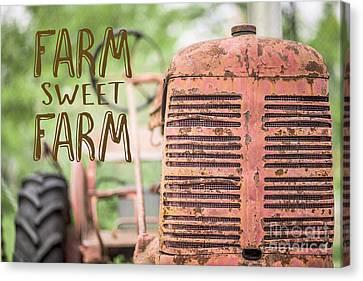 Farm Sweet Farm Canvas Print by Edward Fielding