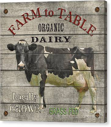 Farm To Table Dairy-jp2629 Canvas Print by Jean Plout