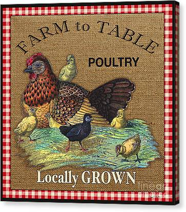Farm To Table-jp2388 Canvas Print by Jean Plout