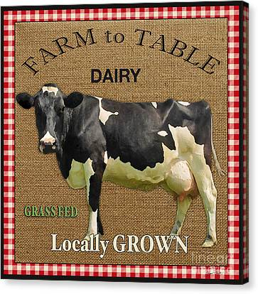 Farm To Table-jp2389 Canvas Print by Jean Plout