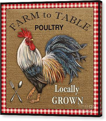 Farm To Table-jp2390 Canvas Print by Jean Plout