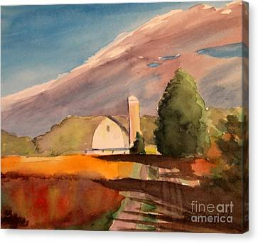 Canvas Print - Farm Walk by Tina Sheppard