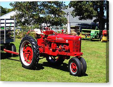 Farmall At The Country Fair Canvas Print by Andrew Pacheco