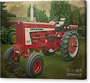 Farmall Tractor Canvas Print by Emily Kay